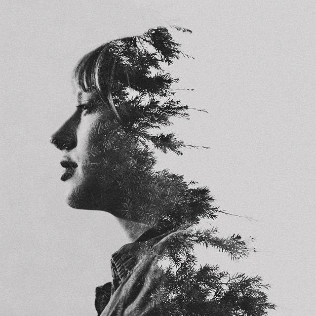 Double Exposure Portraits by Sara K Byrne (8 photos)