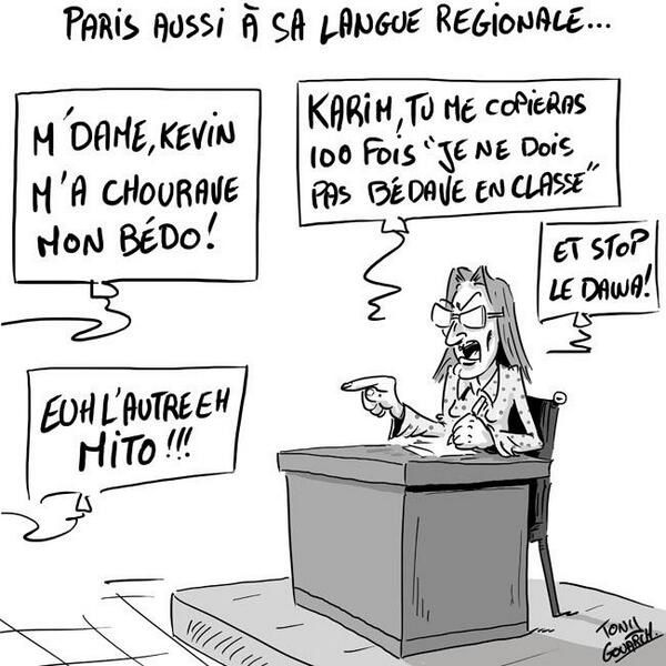 Paris aussi a sa langue régionale