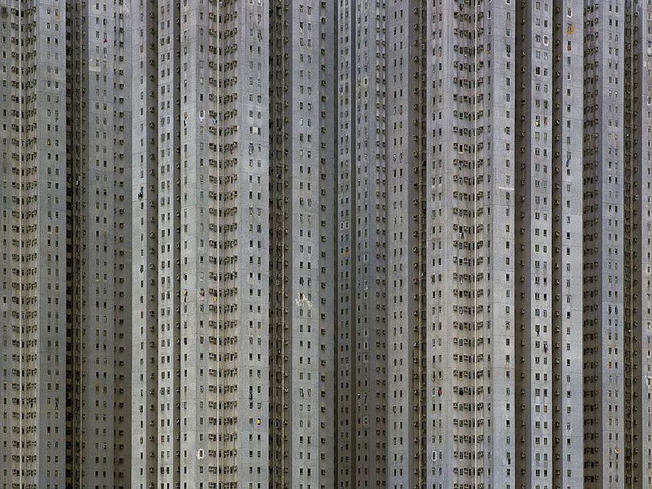 Densité de population à Hong Kong (10 photos)