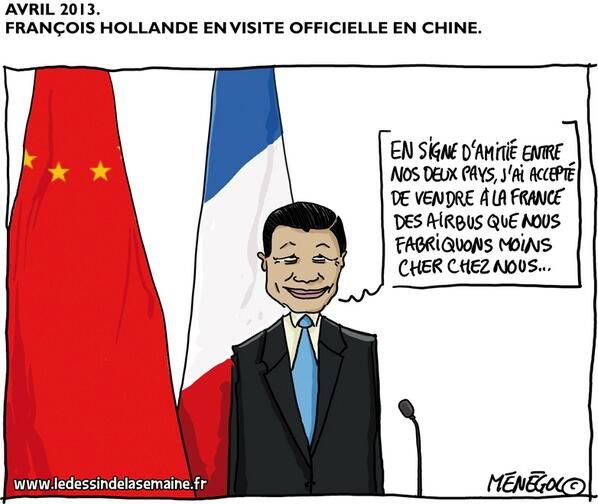 François Hollande en Chine