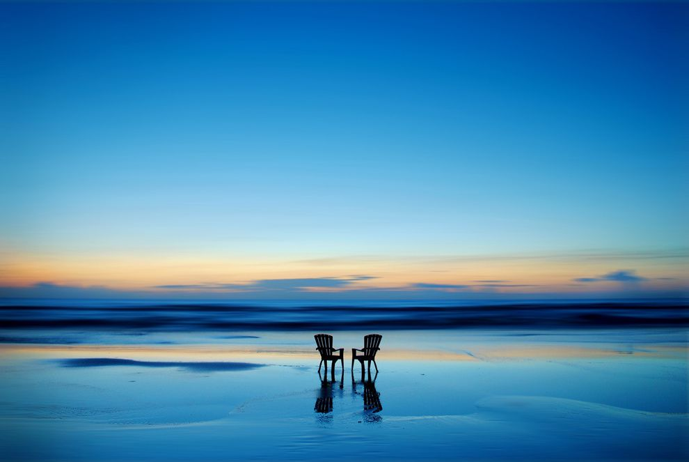 "13. ""Rest."" My honeymoon. Daytona Beach, Florida. (Krasimir Vladimirov / National Geographic Traveler Photo Contest)"