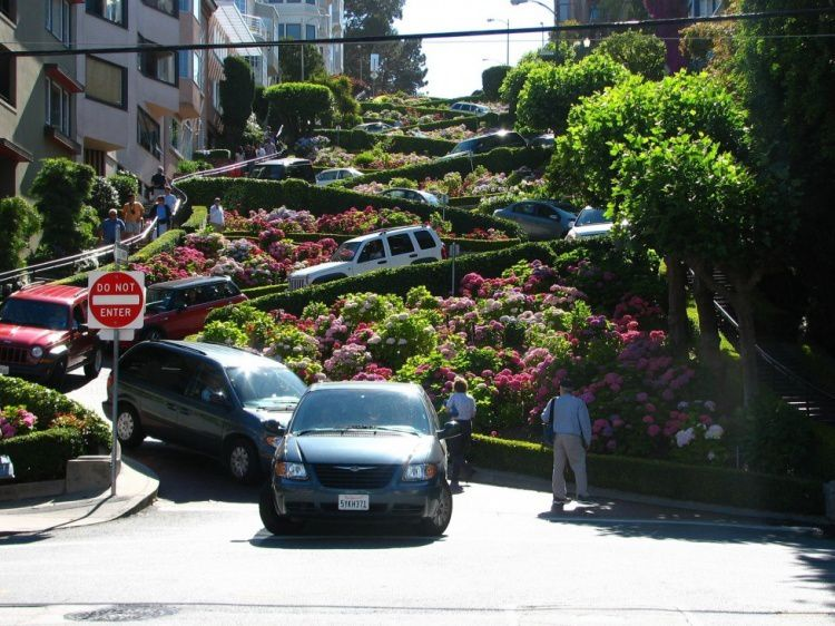 Lombard Street, San Francisco, Californie
