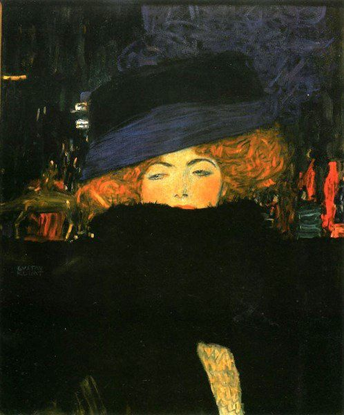Woman in Black (Gustav Klimt)
