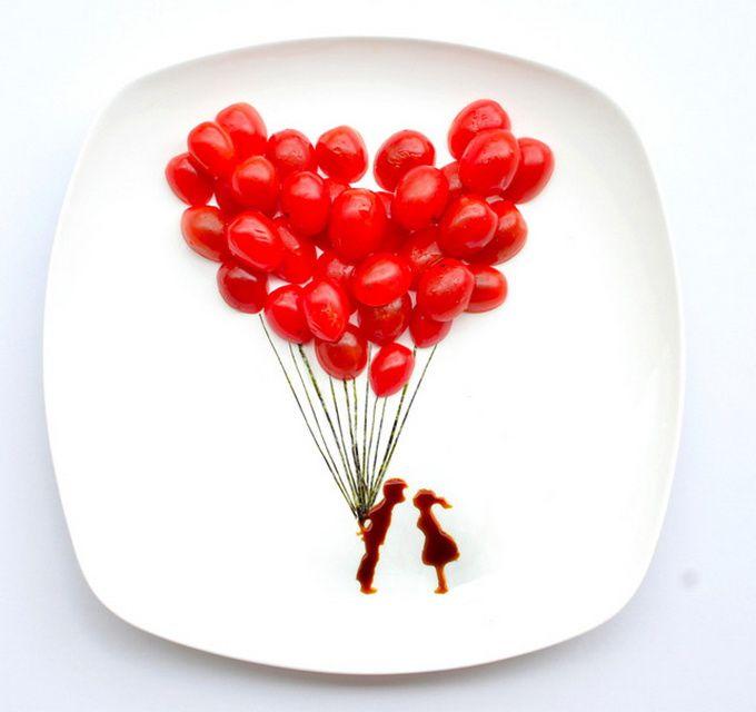 Hong Yi - Food art (15 photos)