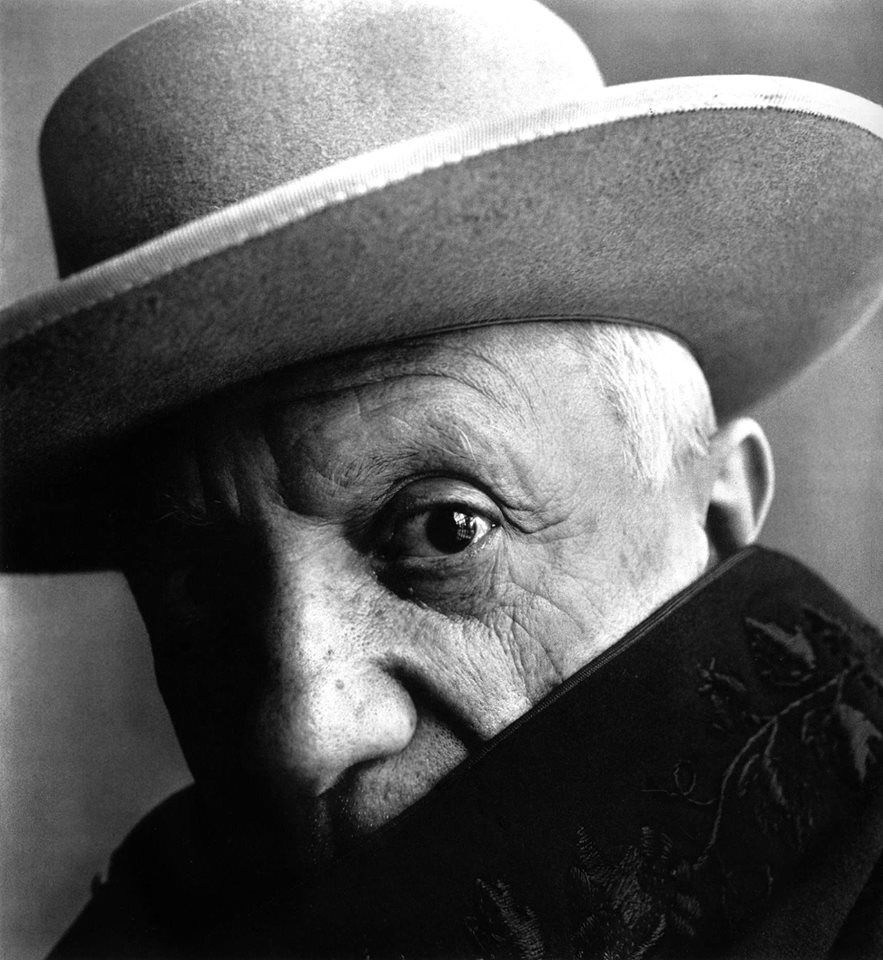 Pablo Picasso, Cannes, France, 1957