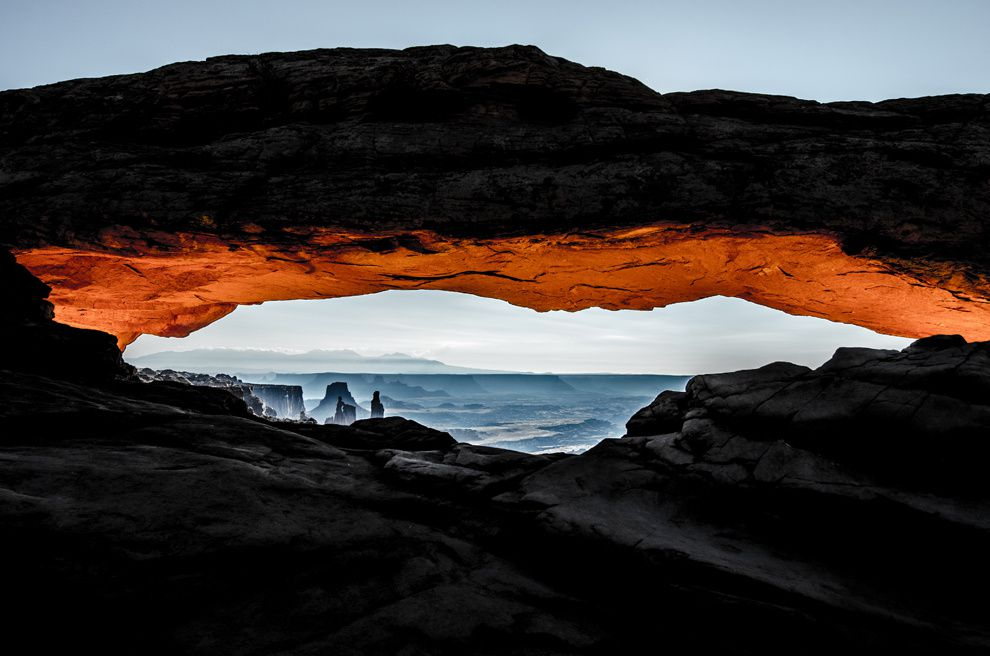 "19. ""Serenity"". Sandstone Arch in Moab, Utah. (Becky Abrisz / National Geographic Traveler Photo Contest)"