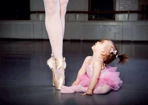 Moi aussi, un jour, je serai danseuse