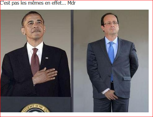Obama, Hollande : 2 styles différents