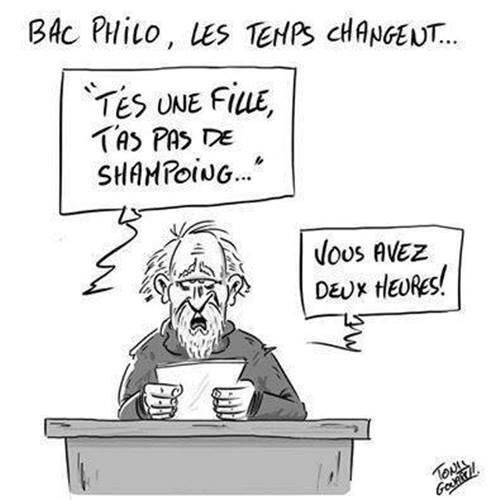 Bac Philo : Les temps changent..