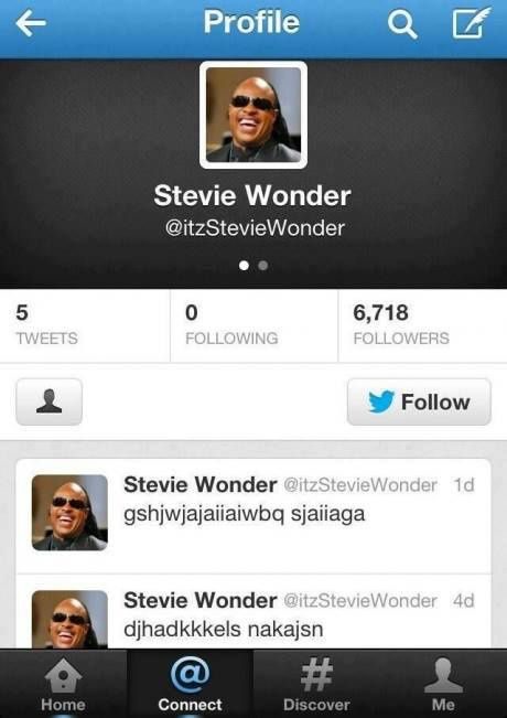Stevie Wonder (Mauvais gout)