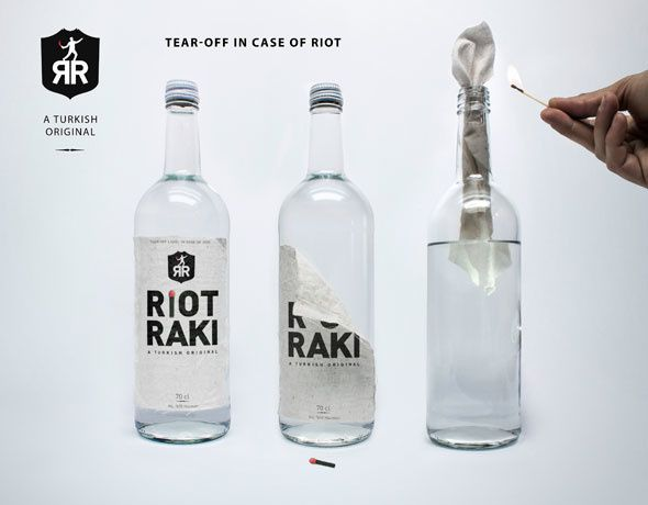 Riot Raki, a turkish original