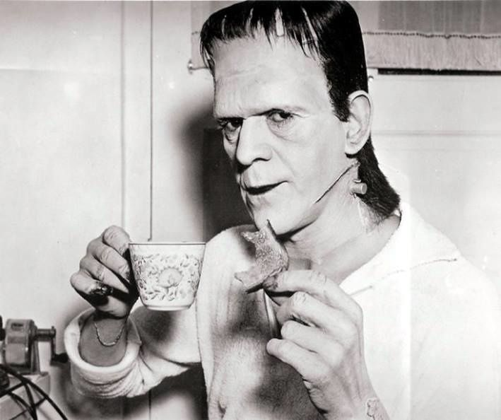 Behind the scene Frankenstein (1931) Boris Karloff