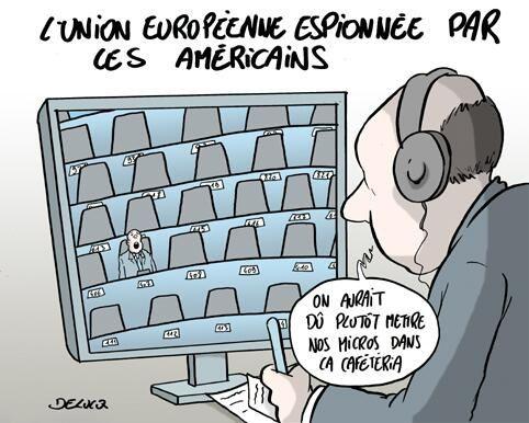 UE espionnée par le NSA