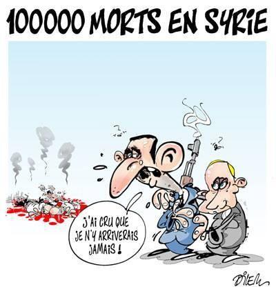 100000 morts en Syrie
