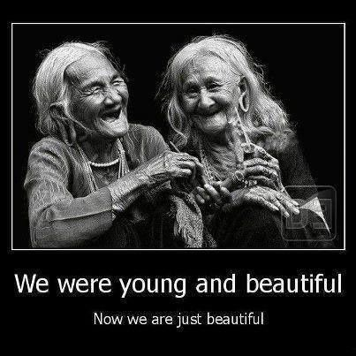 We are young and beautiful