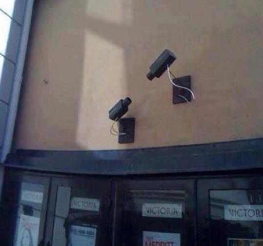 La vidéo surveillance, prise au pied de la lettre !