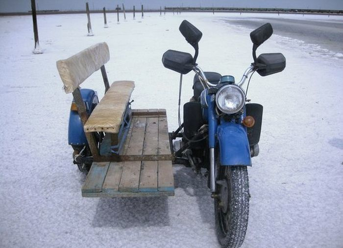 Side-car made in Russia