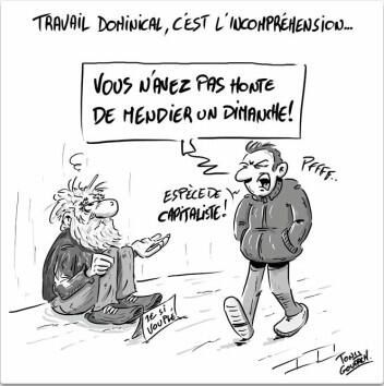 Le travail dominical