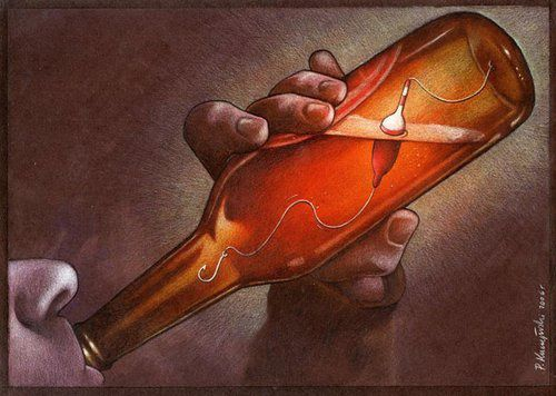 30 illustrations satiriques de Pawel Kuczynski