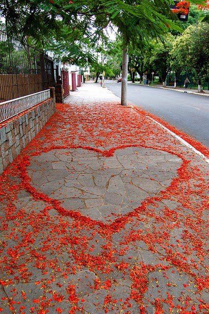 L'amour sur un trottoir