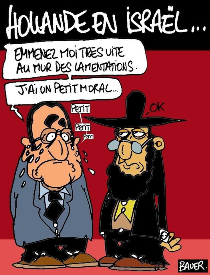 Hollande en Israël