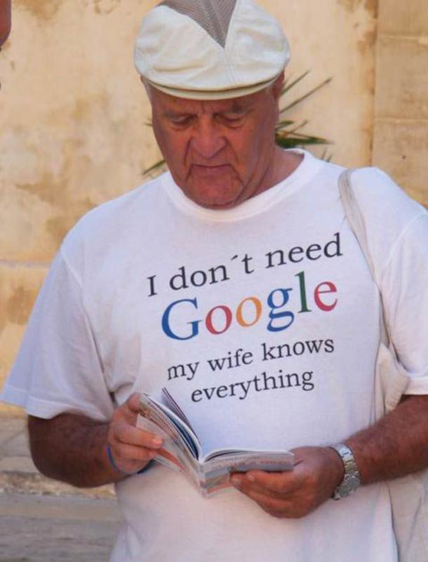 I don't need Google..