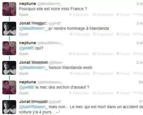 Miss France, Twitter, Mandela et Paul Walker