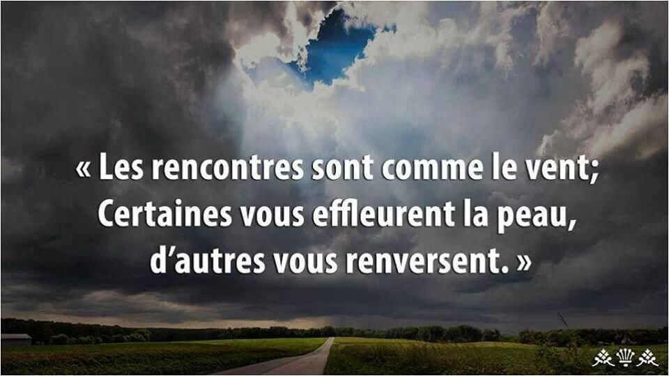 Citation la rencontre
