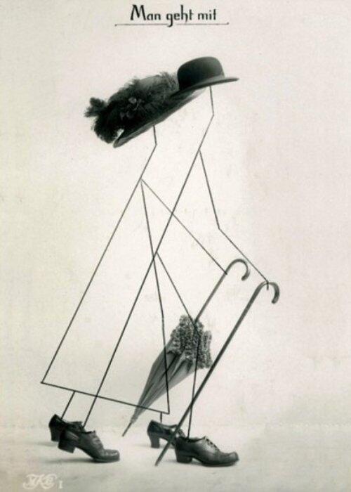 La promenade (Hannah Höch, c. 1916)