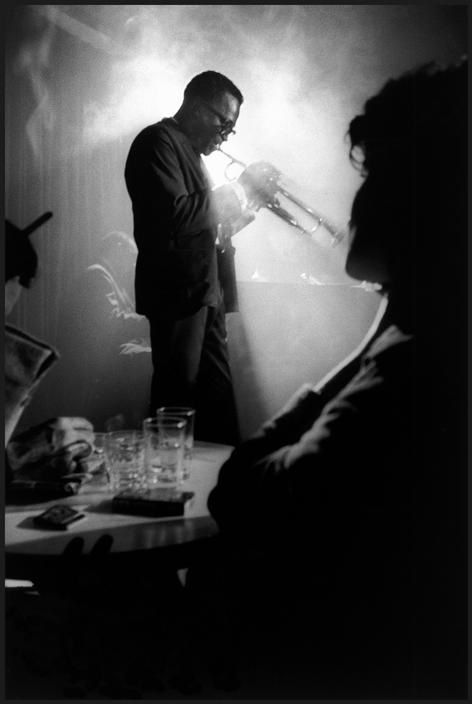 USA. 1958. Miles DAVIS. by Dennis Stock