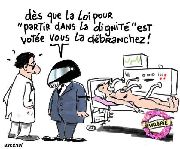 F. Hollande et la loi &quot&#x3B;Partir dans la dignité&quot&#x3B;