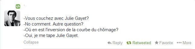 Conférence de Presse de F. Hollande
