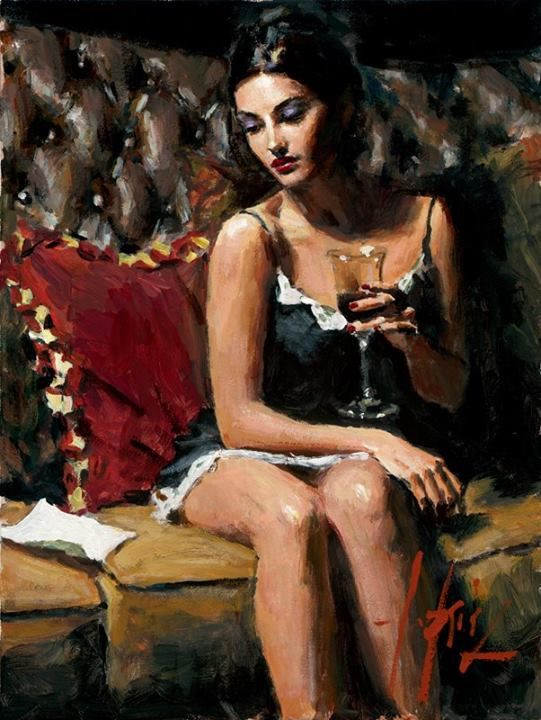 The Letter (Fabian Perez)