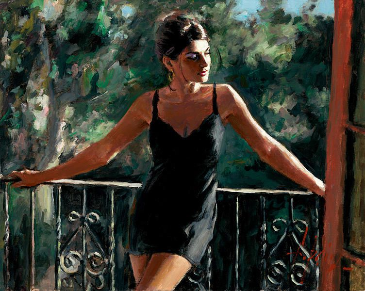 Saba in the sun (Fabian Perez)