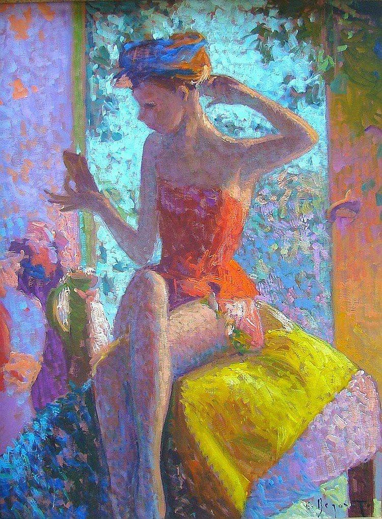 Eugène Begarat, 1943, Peintre Post-impressioniste