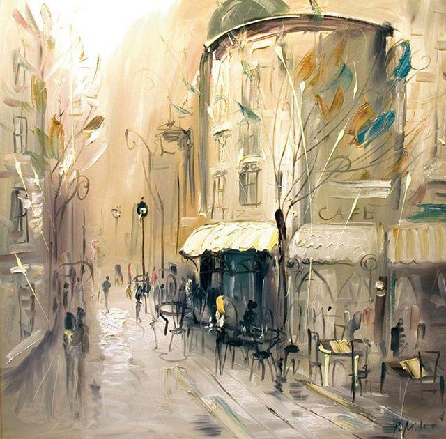 Le peintre Pavel Mitkov