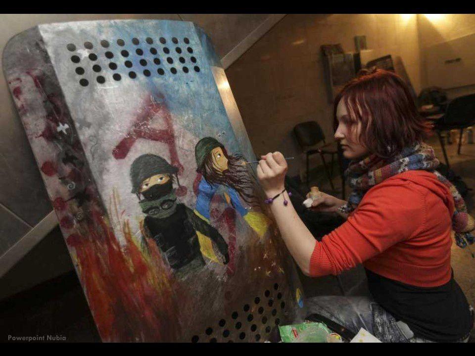 Scènes d'apocalypse en Ukraine