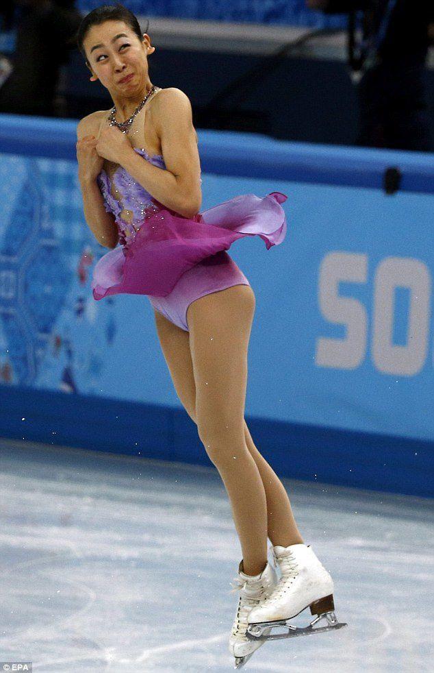 Les visages insolites du patinage artistique aux JO de sotchi