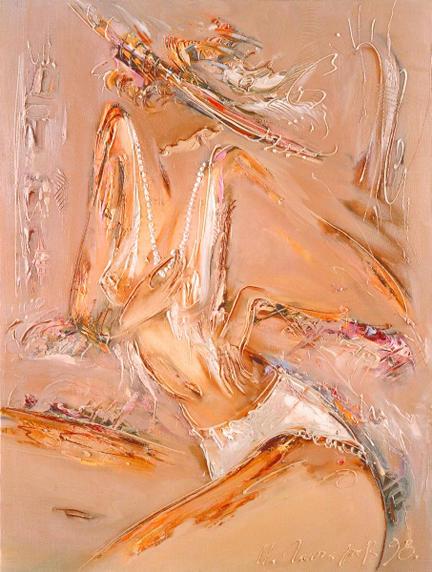 L'artiste peintre Igor Goncharov en 30 tableaux