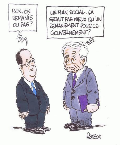 Le remaniement (par Ranson)