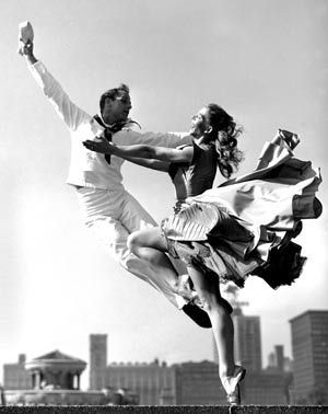 &quot&#x3B;Fancy Free&quot&#x3B; (Photo Bob Lerner, , Grant Park, Chicago 1952)