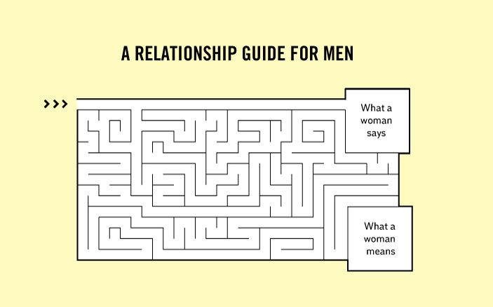 A relationship guide for men