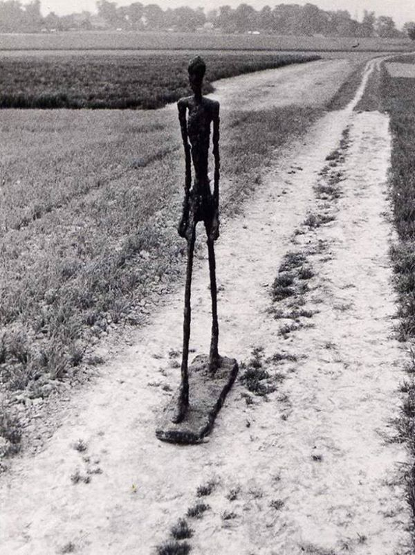 Man Walking, (Alberto Giacometti 1960).