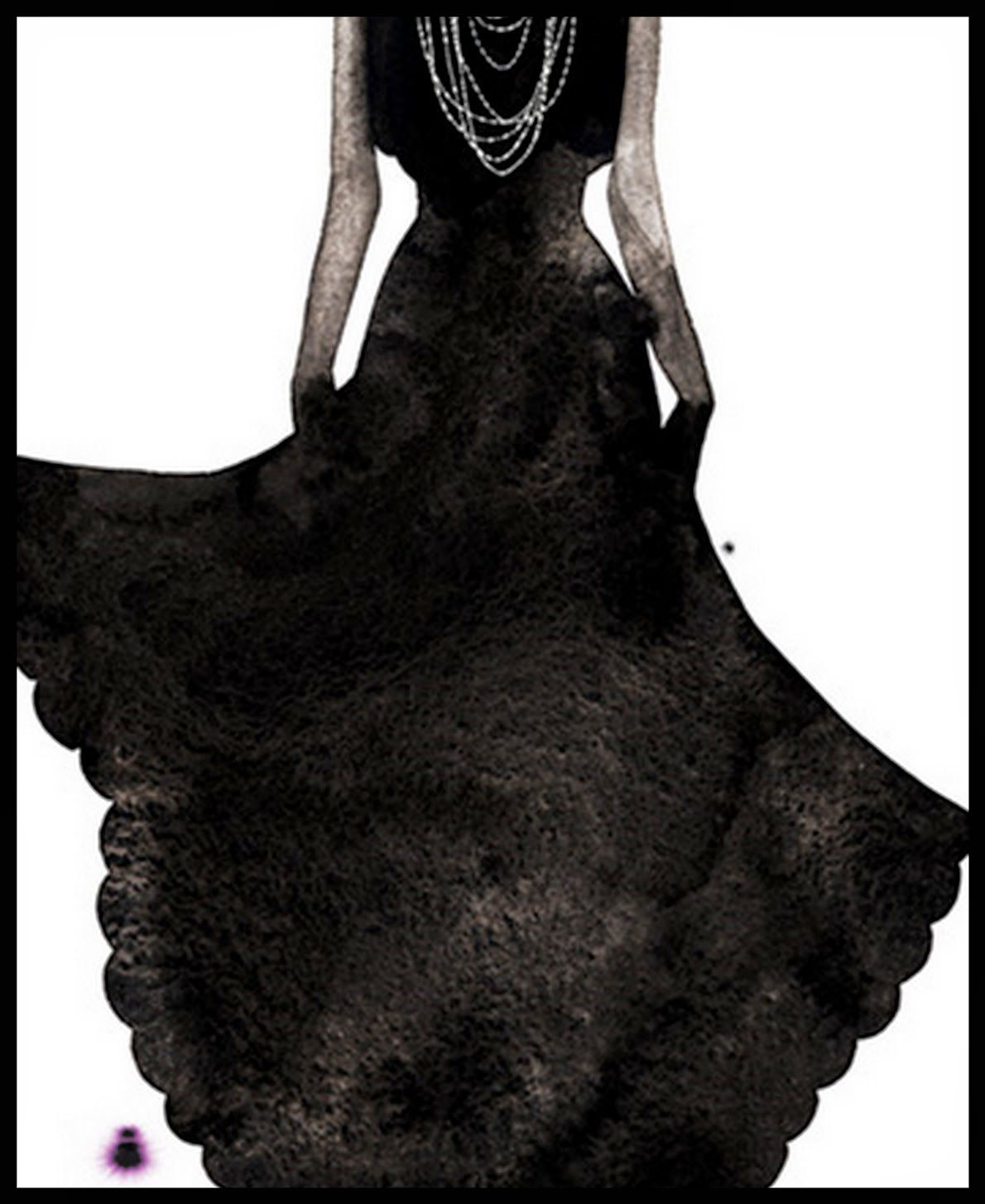 Kareem Iliya, 1967, Fashion watercolor designer (12 tableaux)