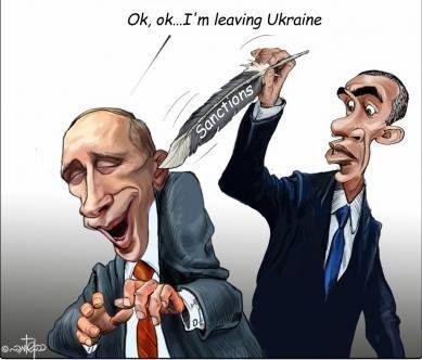 Ukraine : les sanctions contre Poutine