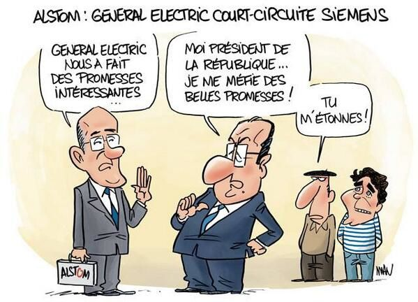 ALSTOM : General Electric court-circuite Siemens ... (par MAN)