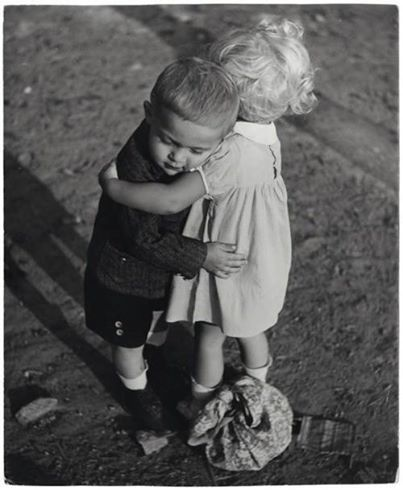 """""""We have each other."""" (Photo Frank Pekar)"""
