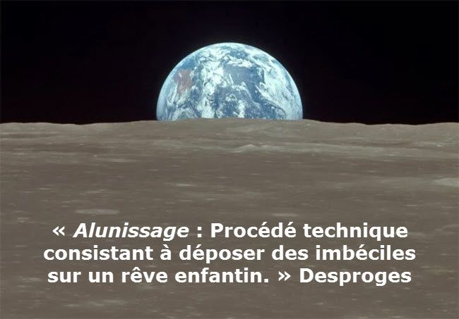Alunissage (Desproges)
