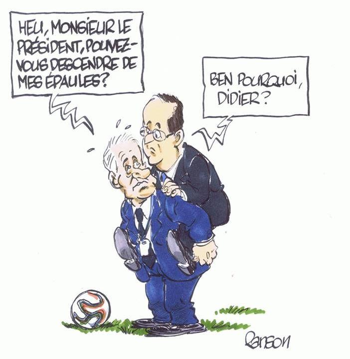 Hollande et Didier (par Ranson)