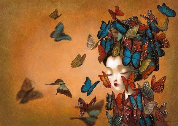 Madame Butterfly (artiste Benjamin Lacombe)